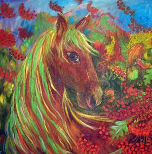"""N. Būrienė """"Jau ruduo"""" (2004 m.)"""