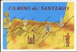 Kelias į Santjago de Kompostelą