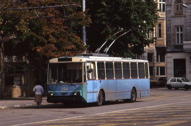 troleibusu linija