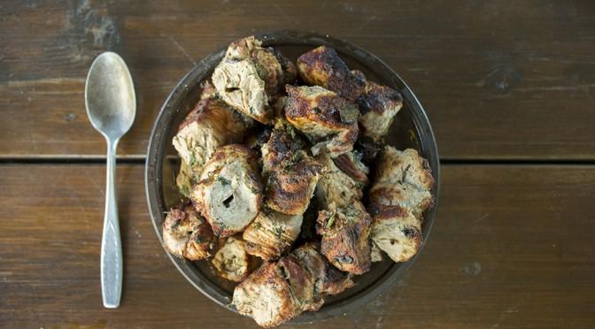 greitas ir tradicinis saslyko receptas