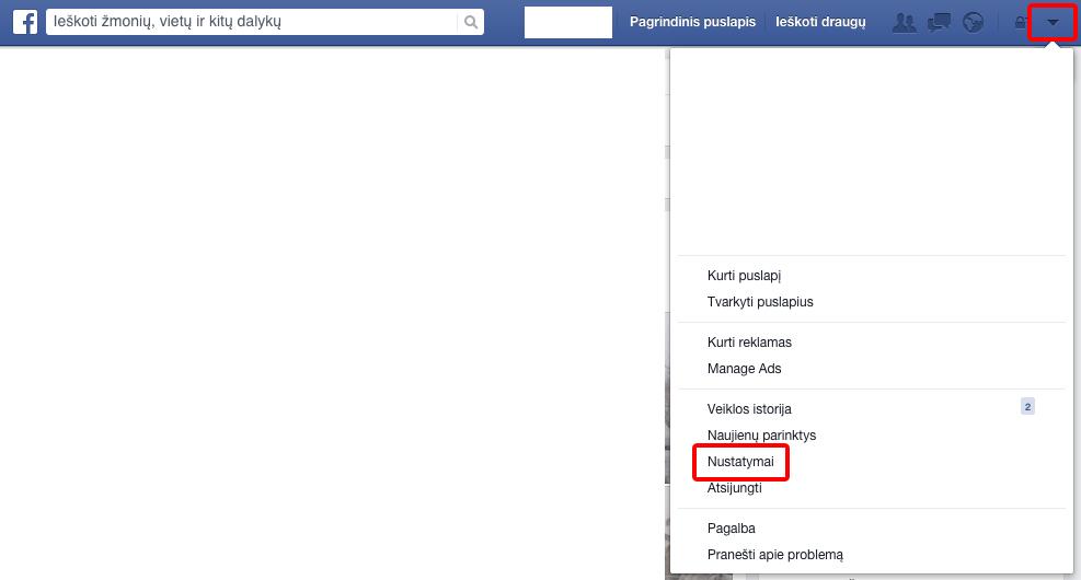 Kaip ištrinti ir panaikinti Facebook anketą visam laikui